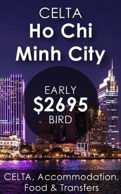 CELTA Courses Ho Chi Minh City