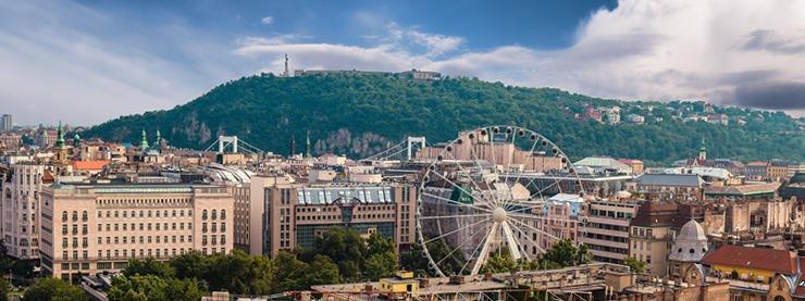 Budapest City Panorama Hungary