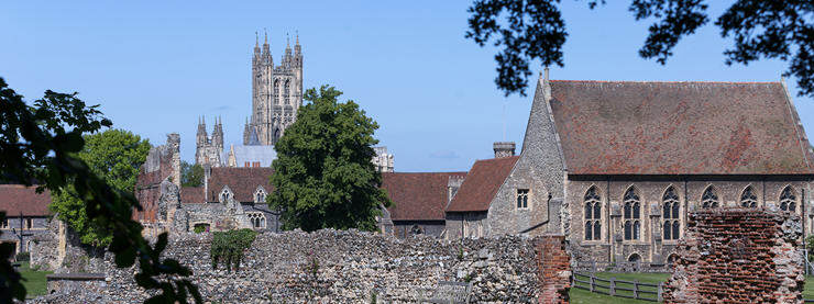Canterbury Cathedral View Kent