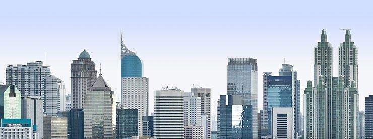 Jakarta Skyline Skyscrapers