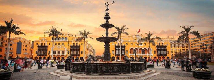 Lima Peru City Centre
