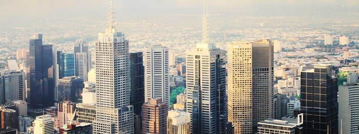 Melbourne CELTA Skyline