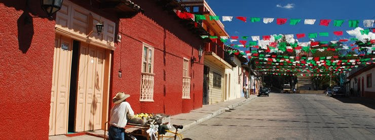 Mexican Street Colours