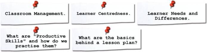 Online Pre-CELTA Course Concepts