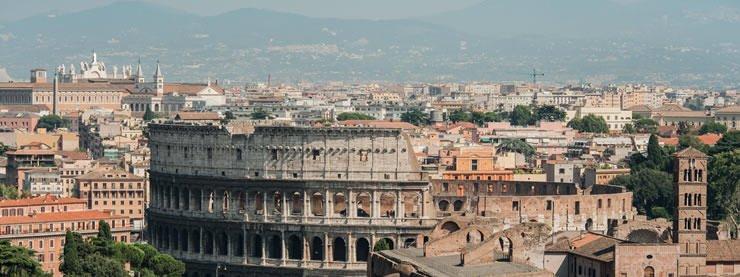 Rome CELTA Colosseum