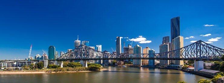 Skyline Brisbane Australia