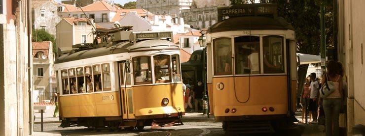 Trams Lisbon CELTA Courses
