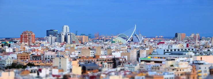 Valencia Rooftop View