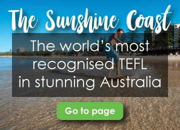 CELTA Courses Sunshine Coast