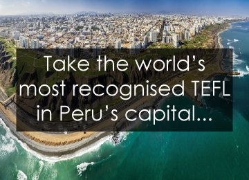 Lima Peru CELTA