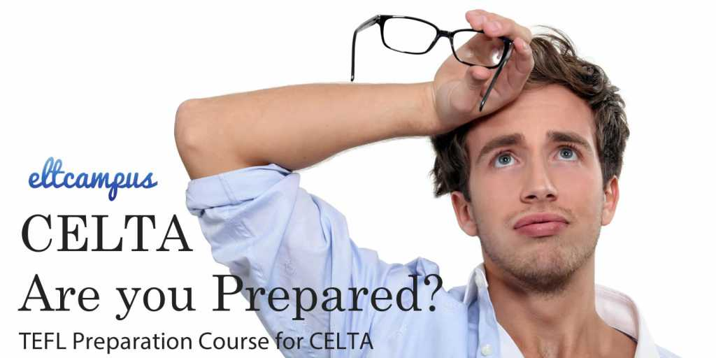 Pre CELTA course preparation