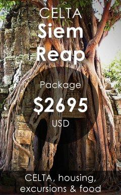 CELTA Courses Siem Reap Cambodia