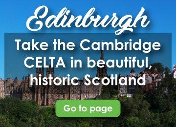 CELTA Courses Edinburgh