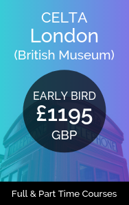 CELTA London Early Bird Discount