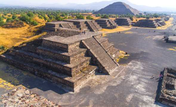 Visit the Teotihuacan when staying in Mexico City