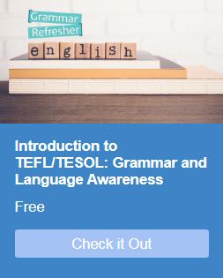 Online Grammar Refresher Course