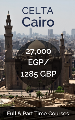 CELTA in Cairo
