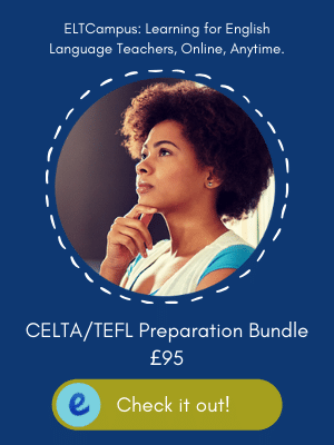 Increase your performance with our 100% online CELTA preparatory course bundle