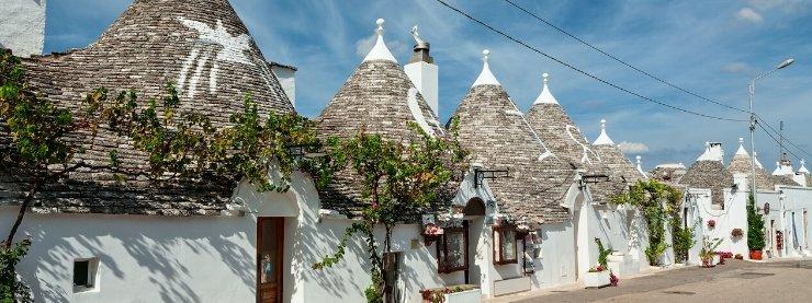 Bari-Trulli-Houses
