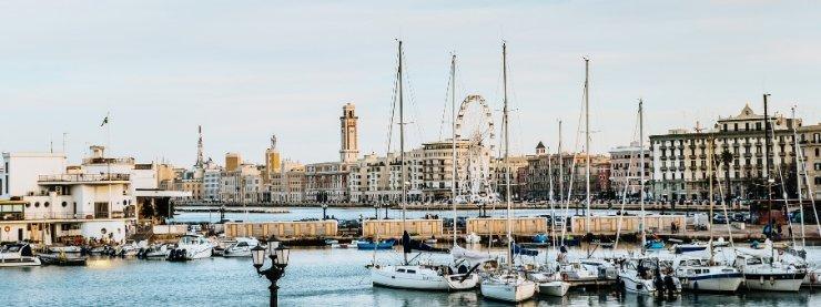Bari-Harbour-Italy