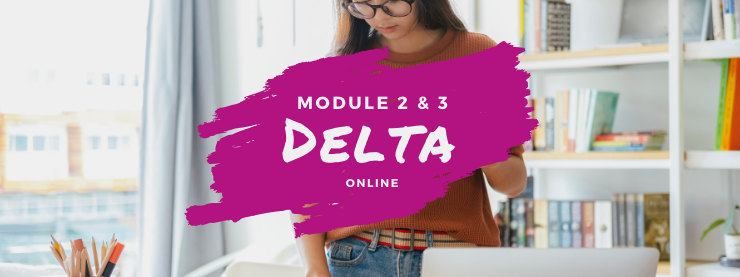 TEFL Online Course Delta Modules 2 and 3