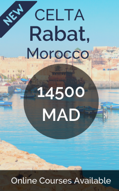 CELTA Rabat Morocco