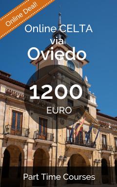Online CELTA Courses Oviedo - 1200 EUROs
