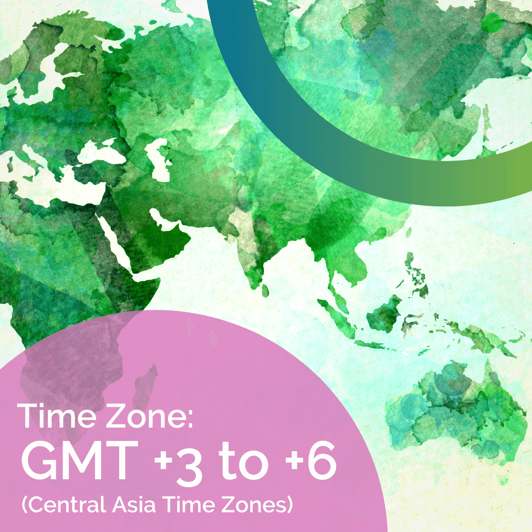 CELTA training online courses time zones Central Asian time zones